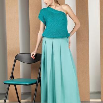 Зелёная юбка