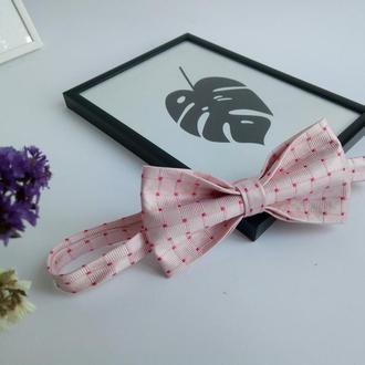 Шелковый галстук-бабочка