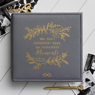 Класичний сімейний фотоальбом / Свадебный альбом ручной работы / Подарок жене / Річниця весілля