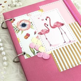 """Планер, planner, блокнот, записная книжка, дневник, щоденник """"Flamingo"""""""