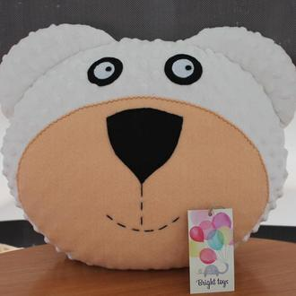 Подушка-игрушка мишка
