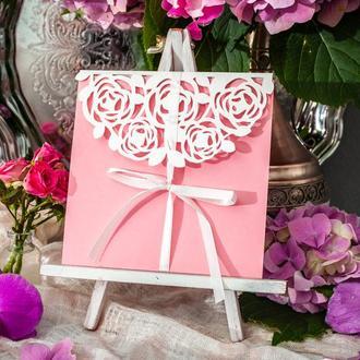 """Приглашение на свадьбу """"Rose"""""""
