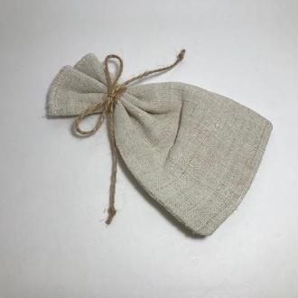 Подарочный упаковочный мешочек .Экологическая упаковка.