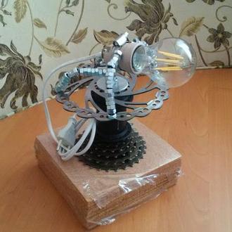 Светильник ручной работы с LED лампой