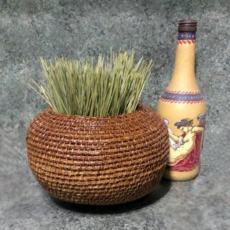 Круглая ваза
