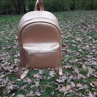 Большой рюкзак золотой