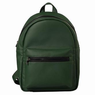 Женский рюкзак зеленый новинка 2018