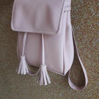 Мини рюкзак с косточками для девушек