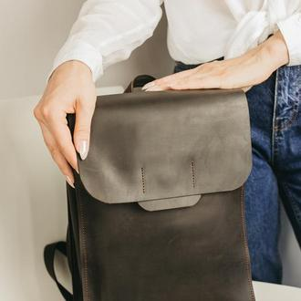 Рюкзак, кожаный женский рюкзак, городской рюкзак, рюкзак из кожи, шкіряний рюкзак