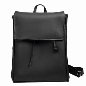 Большой женский рюкзак черный