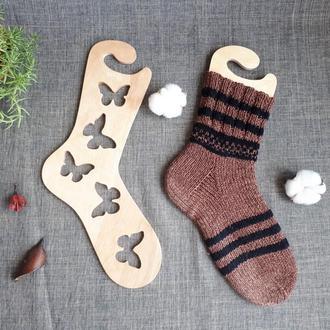 Деревянные блокаторы ′Бабочки′для носков, держатели формы, блокираторы