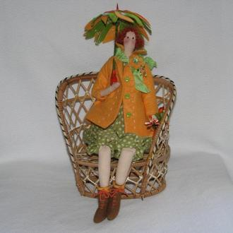 Кукла тильда, коллекция Осень