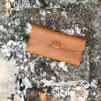 Кожаный кошелек OldSchool