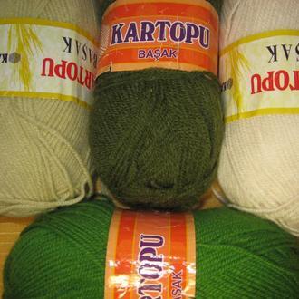 Пряжа ′Basak′ для вязания высокого качества ТМ ′Kartopu′