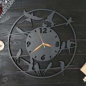 """Часы """"Ласточки / птицы"""""""
