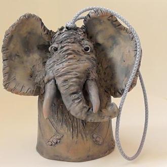 Слоник колокольчик авторский