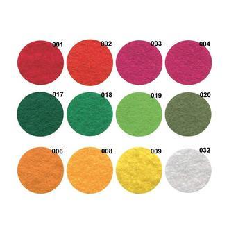 Фетр в наличии 24 цвета, 1 мм, размер от 21, 5 х 14 см, 180г/м2