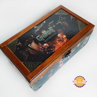 Коробочка для игры Гвинт с мотивами игры Ведьмак