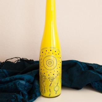 Бутылка декорированная Оберег