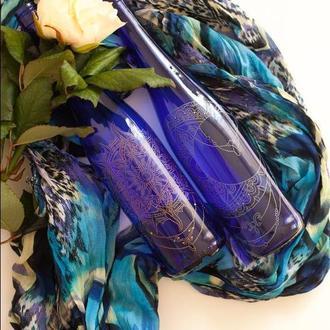 Бутылки декорированные Дуэт