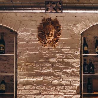 Пробковый декор на стену винного погреба, ресторана ,кухни или бара