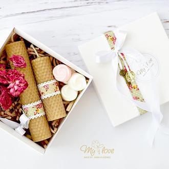 Подарочный набор для девушки Винтажная роза