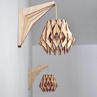 """Бра из дерева / Деревянный светильник """"Sydney"""""""