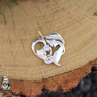 Срібний підвіс «Диво жінки»