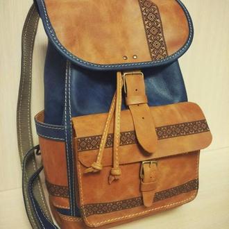 рюкзак кожаный для девушек