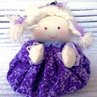 Кукла Саше с лавандой