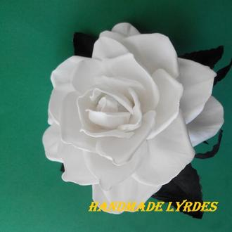 "Резинка ""Белая роза"""