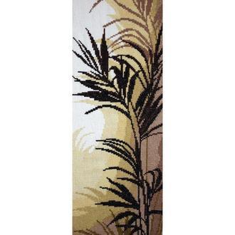Пальмовые листья - вышитая картина