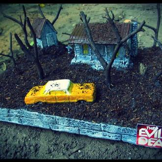 Evil dead / Зловещие мертвецы диорама