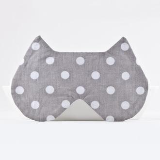 Маска для сна Подарок девушке, маска для сна котик
