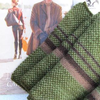"Вязаный мужской шарф ""Норвуд"""