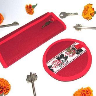 Ключница и футляр для наушников
