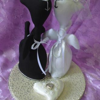 Свадебные коты-ангелы