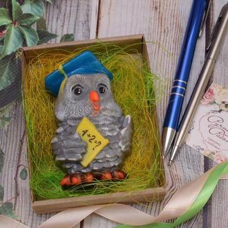 Мыло Мудрая сова, на 1 сентября, День учителя