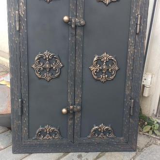 "Дверка для камина,коптильни барбекю ""Медальон"""
