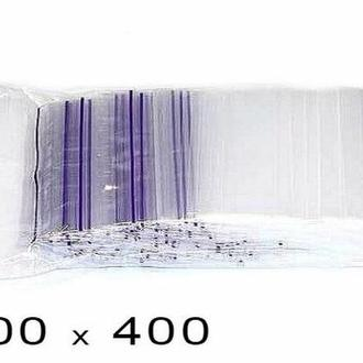 Пакеты струна с замком Zip-Lock,  30*40 см