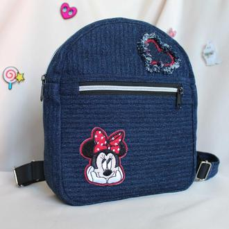 Детский рюкзак с Минни