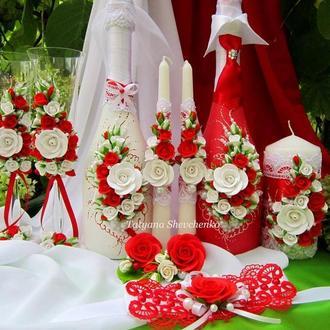 """Свадебный набор """"Королевская свадьба""""."""