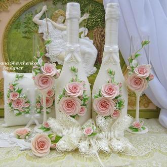 """Свадебный набор """"Romantiс""""."""