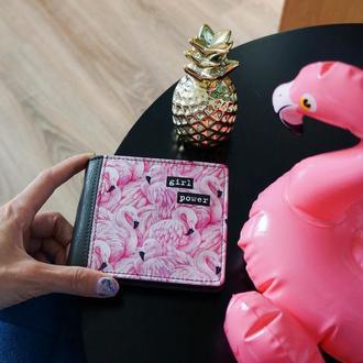 "Кошелек ""Розовый фламинго"" Код: 43024"