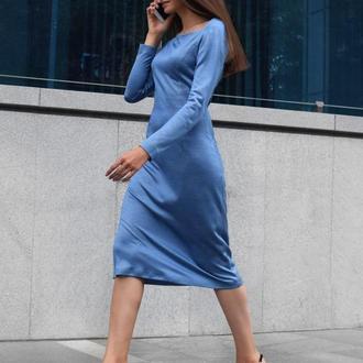 "Платье ""Silk&Wool"""