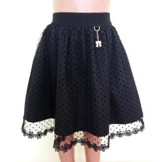 Детская школьная юбка на резинке «Евро», модель № 38