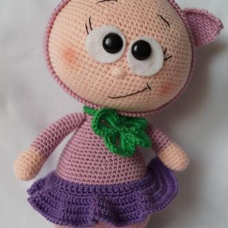 Куколка Бонни в костюме свинки