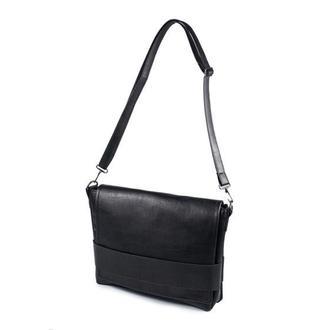 Мужская сумка серез плечо черная Skins Black