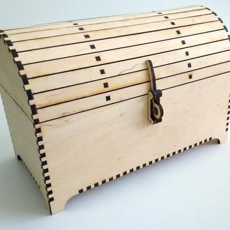 Декоративний скриня з перекидом