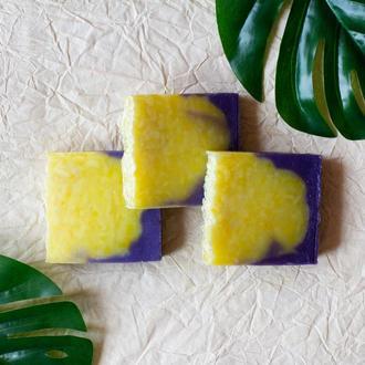 """Натуральное мыло """"лимон и мята"""""""